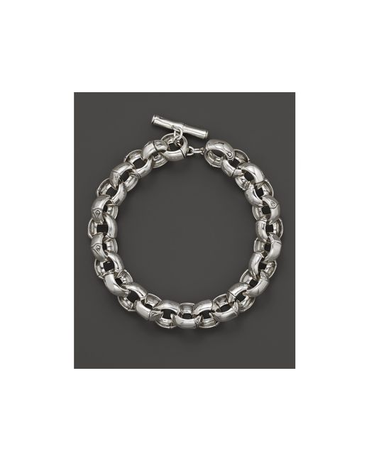John Hardy | Metallic Bamboo Silver Small Link Bracelet | Lyst
