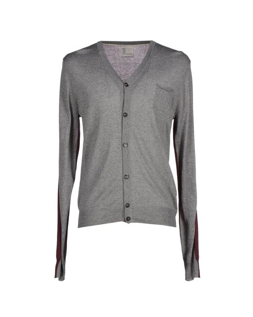 Obvious Basic | Gray Cardigan for Men | Lyst