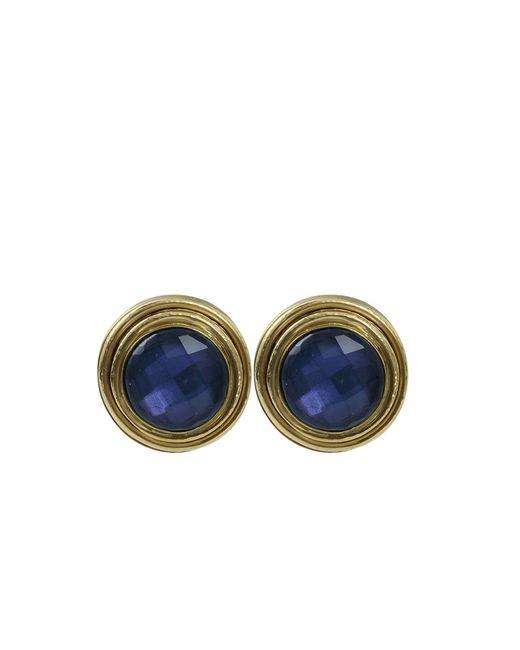 Vaubel | Blue Stone Bezel Clip Earrings | Lyst