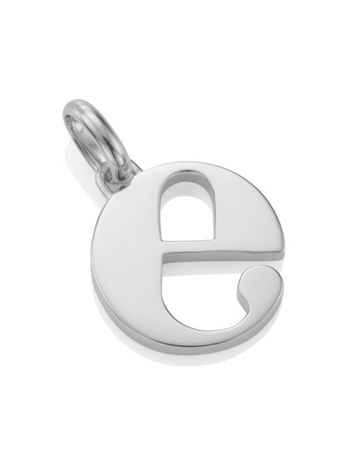 Monica Vinader | Metallic Alphabet Pendant E | Lyst