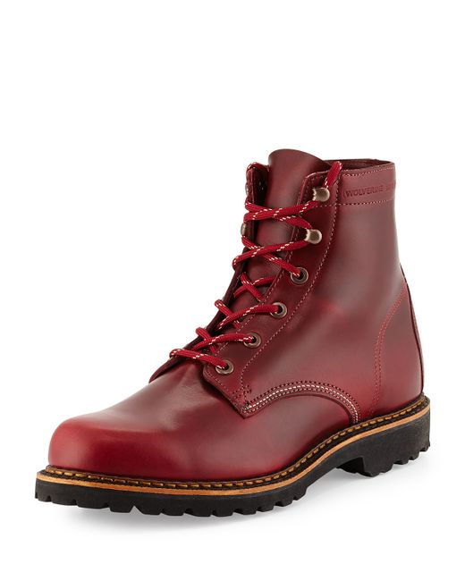 Wolverine Duvall 1000 Mile Boot In Red For Men Lyst