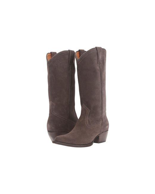 Frye - Brown Sacha Tall Western Boot - Lyst