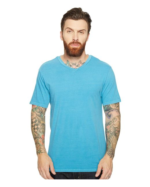Threads For Thought | Blue Standard V-neck Tee for Men | Lyst