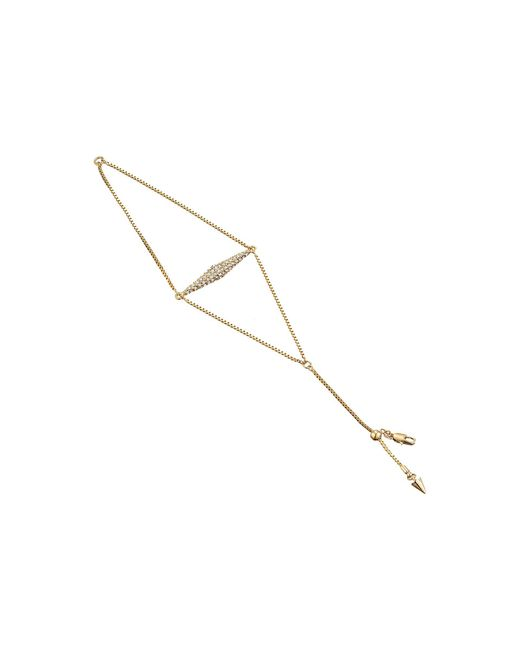 Vince Camuto - Metallic Vertical Extended Pyramid Bracelet - Lyst