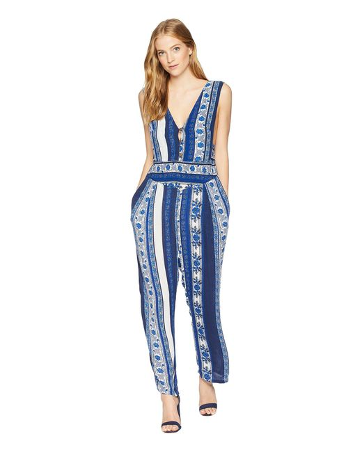 Free People - Blue Pants All Shook Up - Lyst