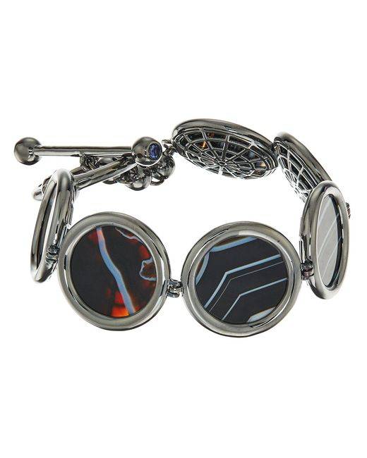 Eddie Borgo - Multicolor Voyager Toggle Bracelet - Lyst