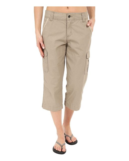 Carhartt - Natural Relaxed Fit El Paso Cropped Pants - Lyst