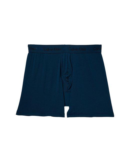 CALVIN KLEIN 205W39NYC - Blue Body Micro Modal Boxer Brief U5555 for Men - Lyst