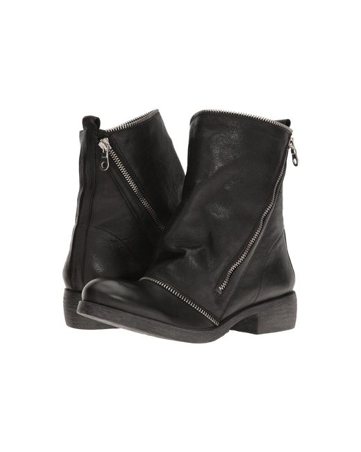 Massimo Matteo - Black Low Boot With Zipper - Lyst