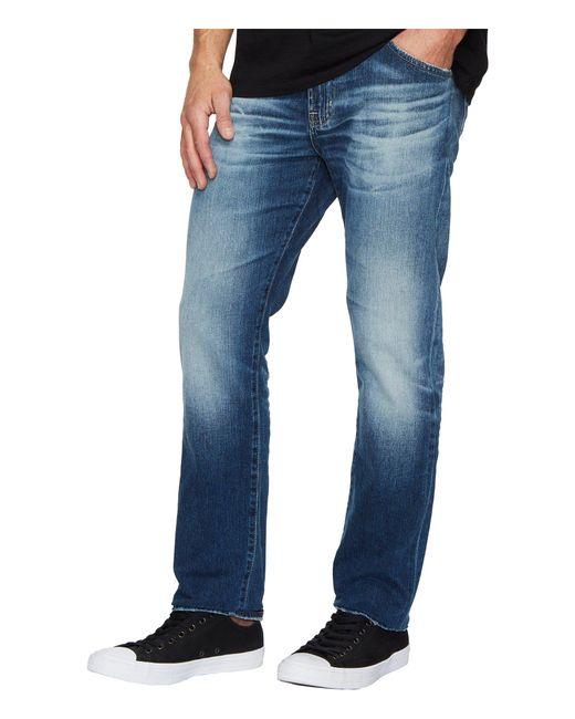 AG Jeans - Blue Everett Slim Straight Leg Denim In 12 Years Maverick for Men - Lyst
