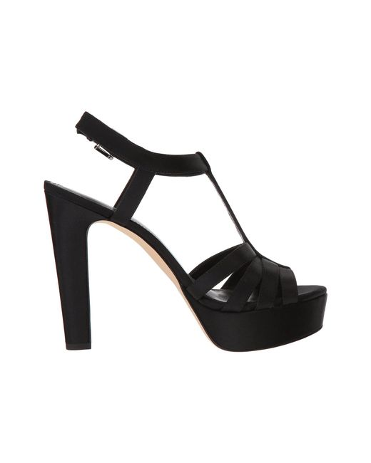 0112c35a3a73 Lyst - MICHAEL Michael Kors Catalina Sandal in Black - Save 39%