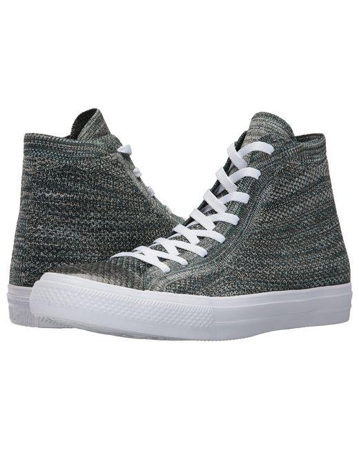f71e1068525f Converse - Multicolor Chuck Taylor® All Star® X Nike Flyknit Hi - Lyst ...