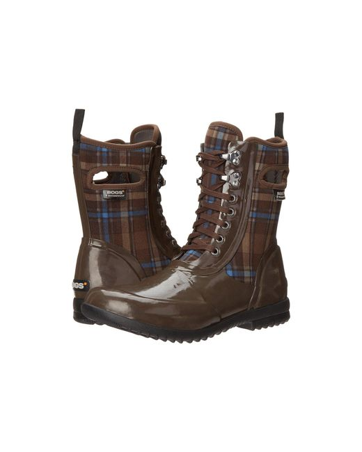 Bogs - Brown Sidney Lace Plaid - Lyst