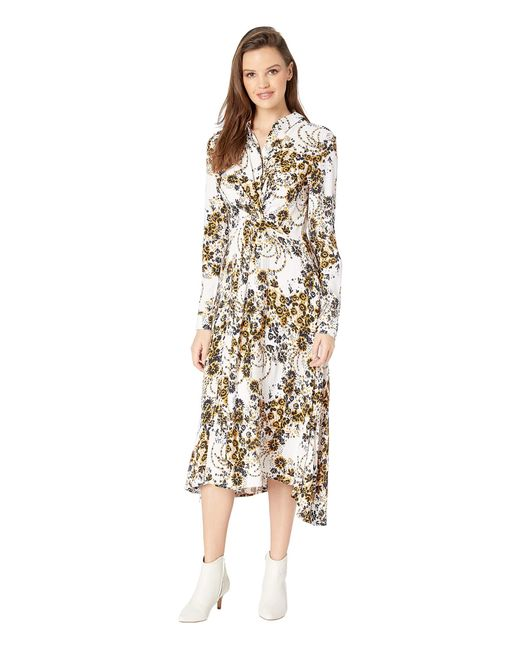 24f4e44f12fb Lyst - Free People Tough Love Shirtdress in White - Save 47%