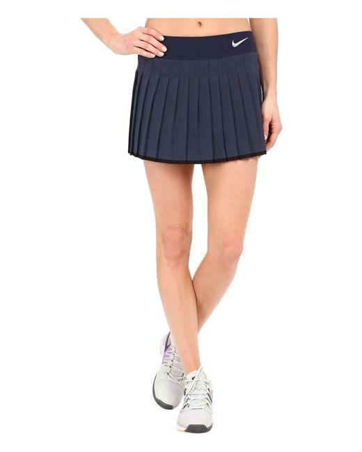 Nike - Blue Victory Skirt - Lyst