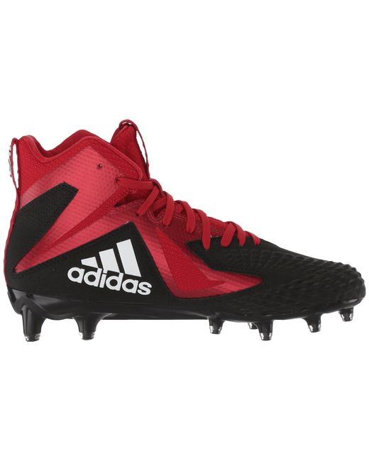 b56c2705b2f Lyst - adidas Freak X Carbon Mid in Red for Men - Save 41%