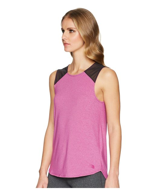 dafc50feb925e ... The North Face - Purple Beyond The Wall Backless Tank Top - Lyst ...