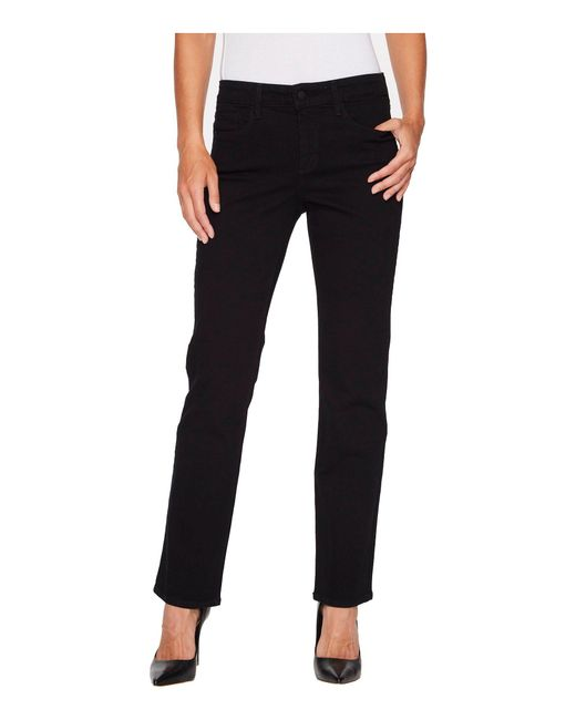 NYDJ - Marilyn Straight - Short Inseam In Black - Lyst