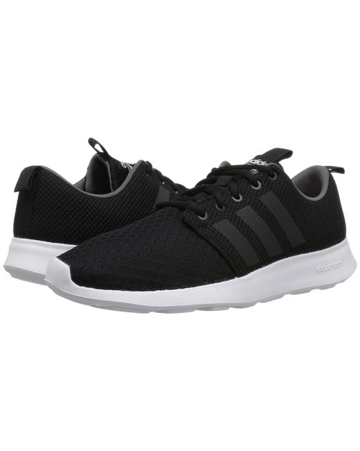 adidas cloudfoam swift racer all black