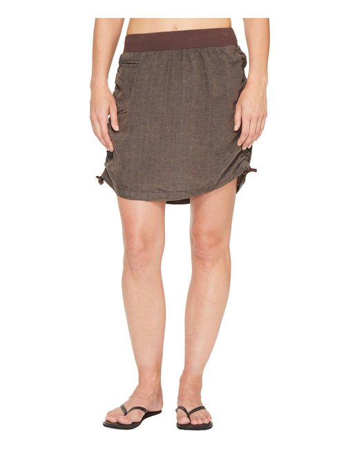 Toad&Co - Brown Lina Adjustable Skirt - Lyst