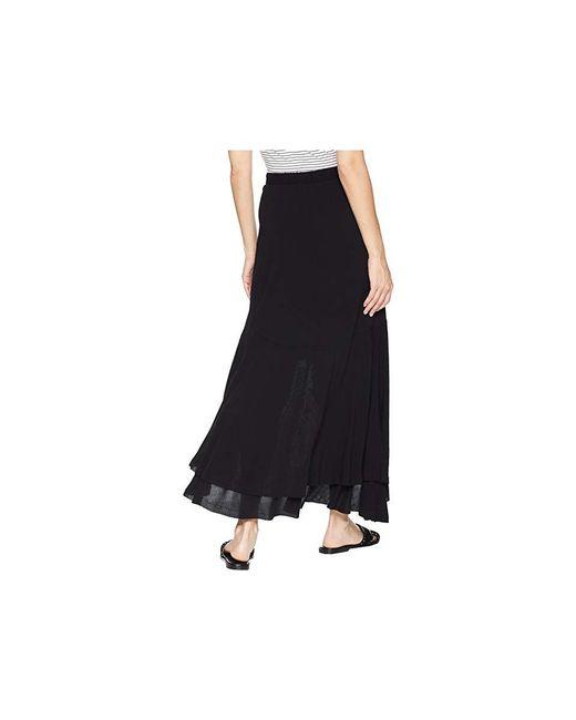 9c66feb698 Karen Kane Asymmetric Raw Hem Skirt (black) Skirt in Black - Save 15 ...