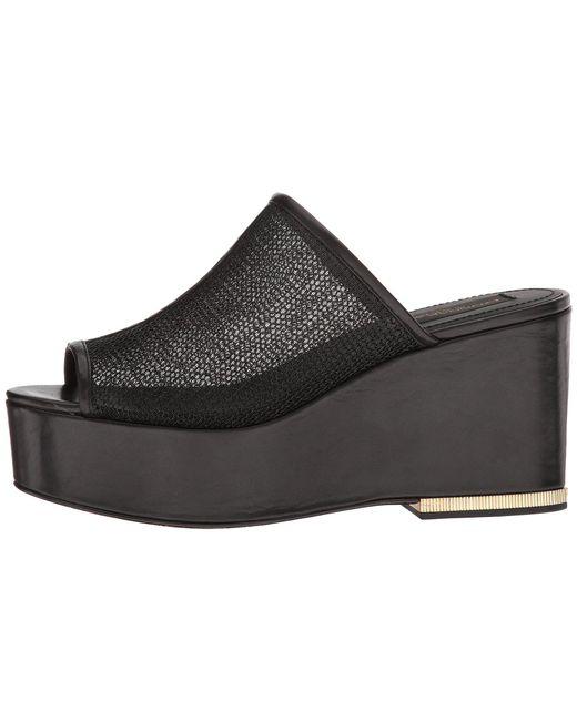 01b889c3df31 ... Donna Karan - Black Sade Sandal - Lyst ...