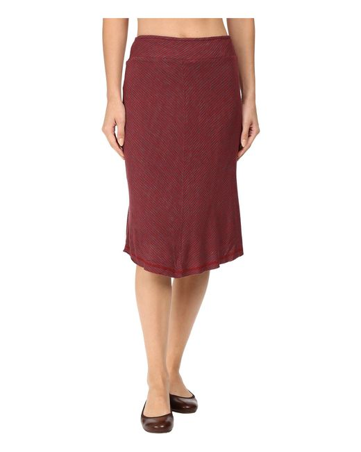 Aventura Clothing - Red Cadence Skirt - Lyst