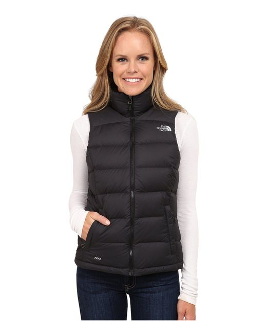 The North Face - Black Nuptse 2 Vest - Lyst