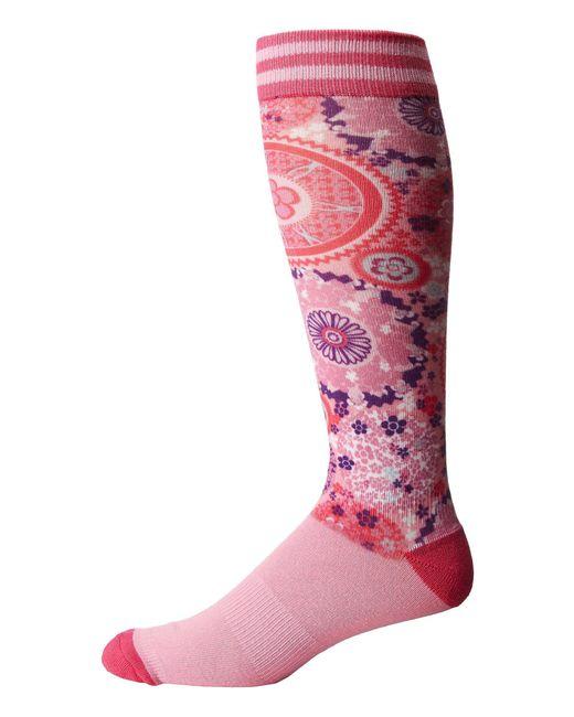 Bula - Pink Print Socks - Lyst