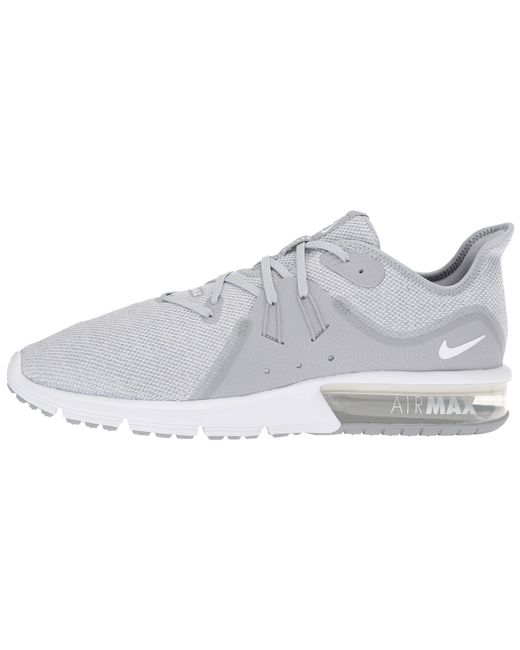 3cc66f7f2f6 Lyst - Nike Air Max Sequent 3 in Gray for Men - Save 10%