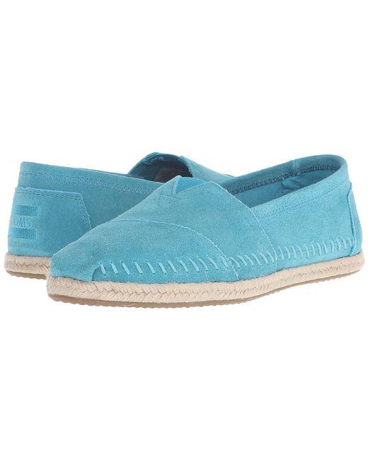 87451d2e70e TOMS - Blue Seasonal Classics - Lyst ...