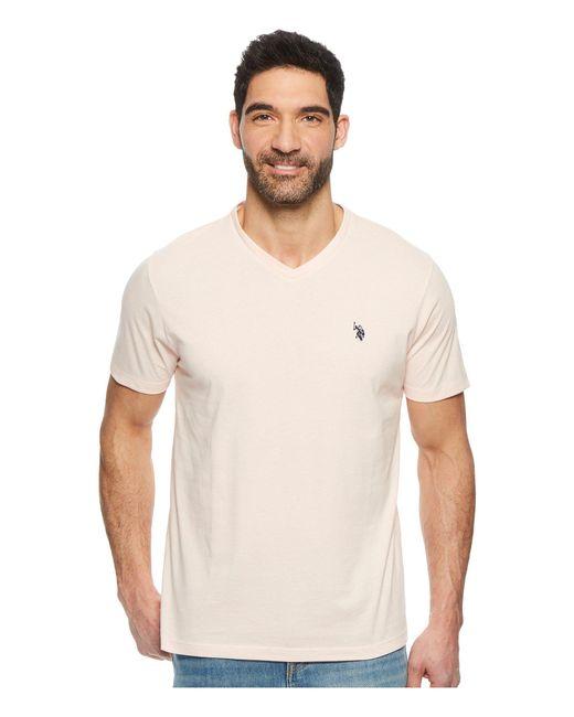 U.S. POLO ASSN. - Multicolor V-neck Short Sleeve T-shirt for Men - Lyst