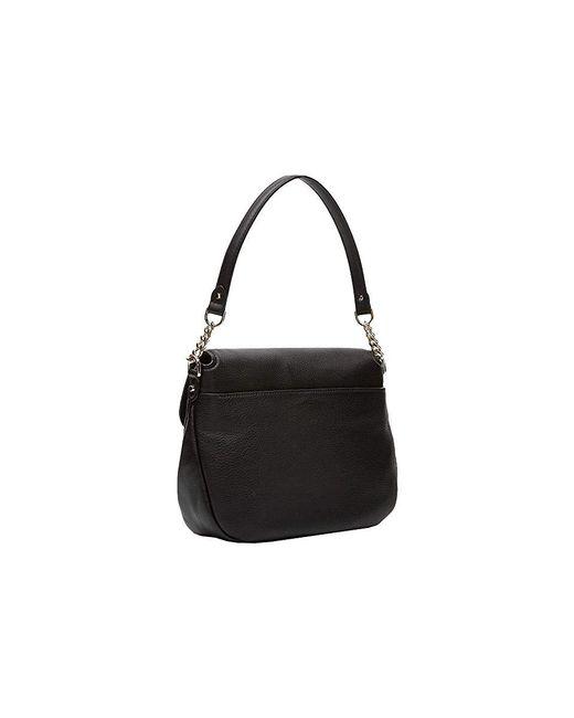 1fc2d1a856e5 ... MICHAEL Michael Kors - Evie Medium Shoulder Flap (black) Shoulder  Handbags - Lyst ...