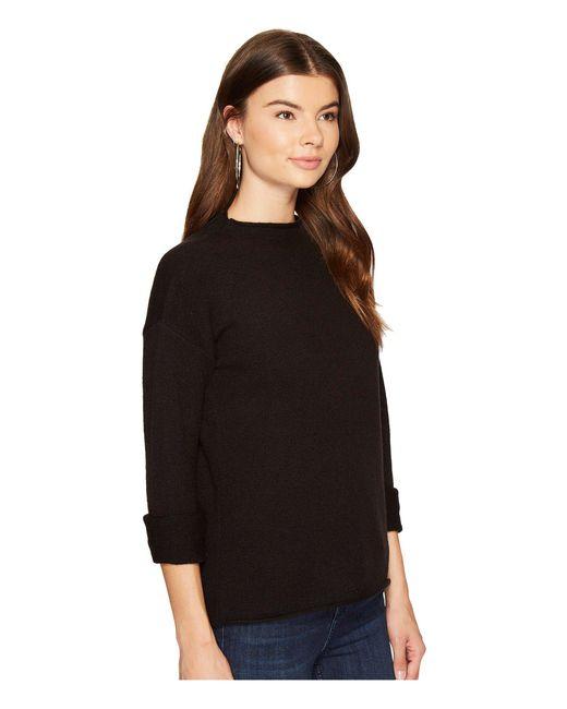... Kensie   Black Acrylic Knit Sweater Ks9u5403   Lyst ...