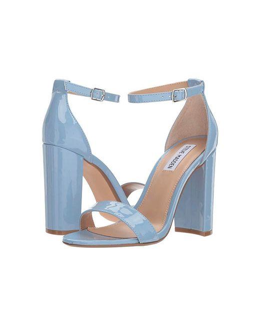 765922b612f Steve Madden Carrson Heeled Sandal (dusty Blue) High Heels in Blue ...