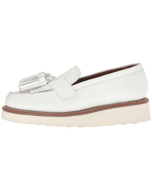 4631aced938 Lyst - Grenson Clara Loafer in White - Save 10%