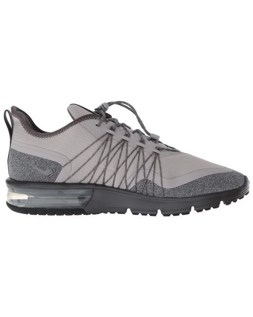 huge selection of 924ed f2687 ... Nike - Gray Air Max Sequent 4 Shield - Lyst ...