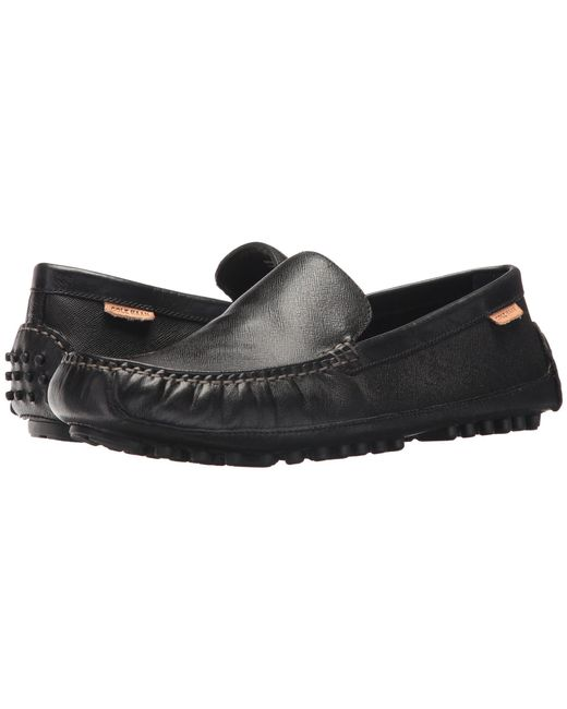 Cole Haan - Black Coburn Venetian Driver Ii for Men - Lyst