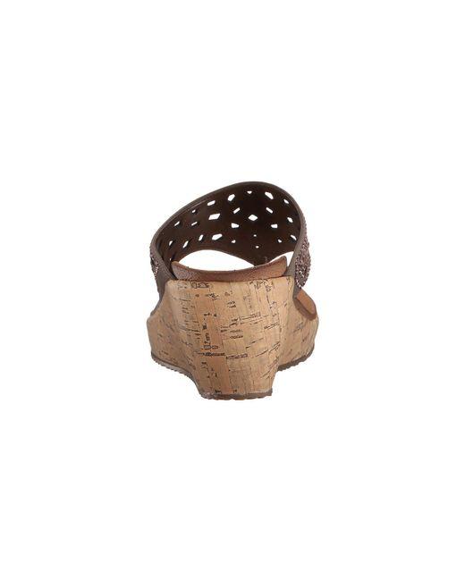 093e7b5b0c2c Lyst - Skechers Cali - Beverlee - Dazzled in Brown - Save 6%