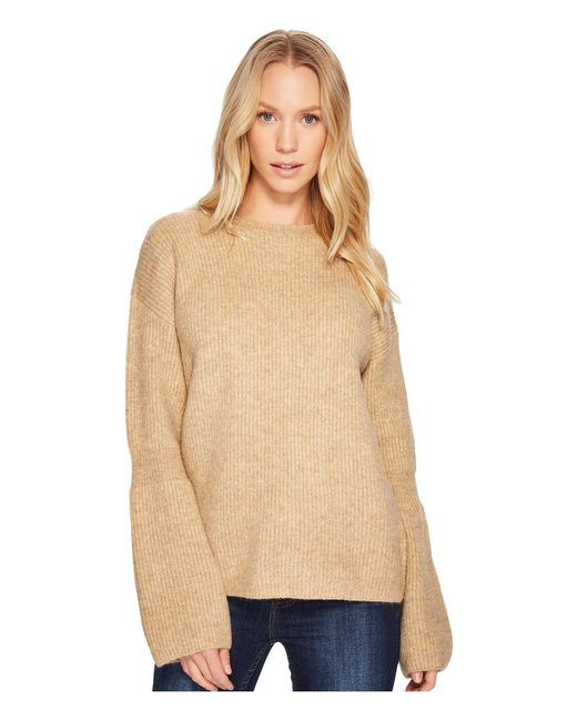 Blank NYC - Natural Camel Sweater In Atomic Tan - Lyst