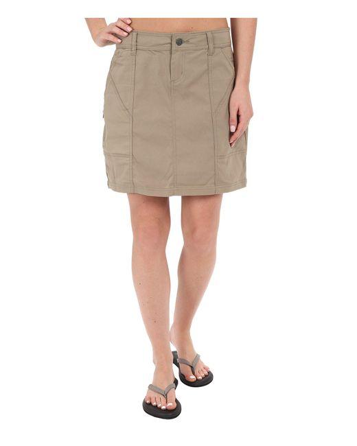 Prana - Natural Monarch Skirt - Lyst