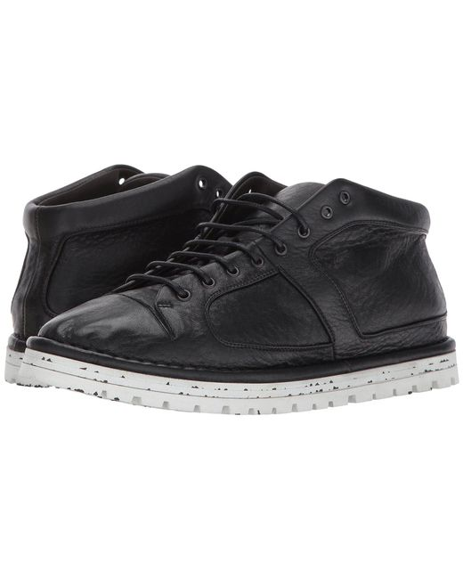 Marsèll - Black Gomme Leather Mid Top - Lyst