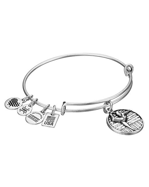 ALEX AND ANI - Metallic Team Usa Gymnastics Bangle - Lyst