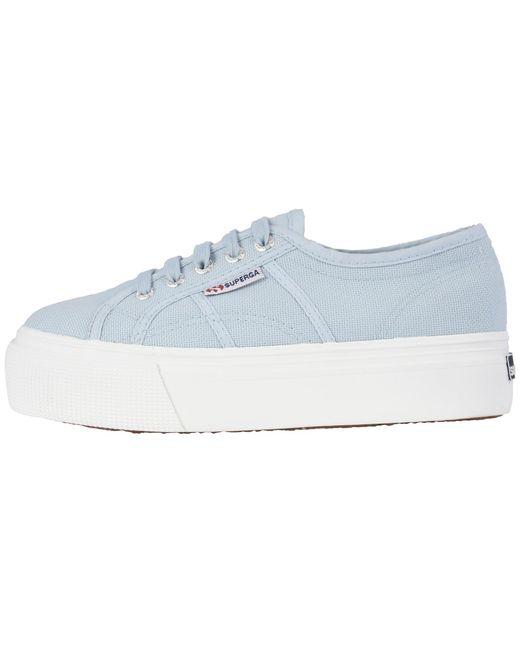 7f95d2f7b48 Lyst - Superga 2790 Acotw Platform Sneaker in Blue - Save ...