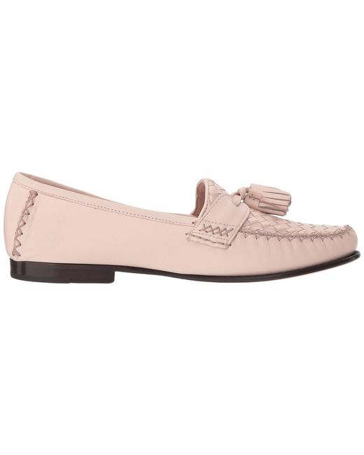 ded84402ea4 Lyst - Cole Haan Jagger Soft Weave Loafer in Pink - Save 37%