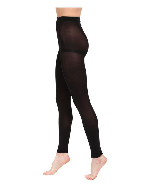 Lauren by Ralph Lauren - Black Footless Tights - Lyst