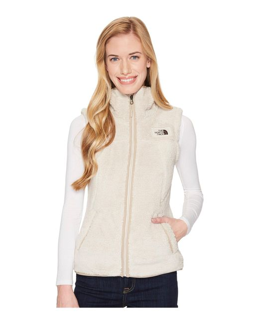 71145bb7f382 Lyst - The North Face Campshire Vest in Natural - Save 8%