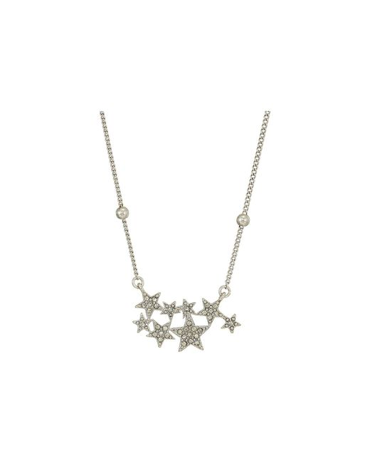 House of Harlow 1960 - Metallic Star Cluster Dainty Necklace - Lyst