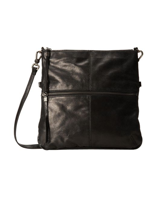 The Sak - Black Sanibel Foldover Crossbody - Lyst
