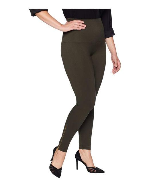 c44f7be2c8c ... Spanx - Black Plus Size Look At Me Now Seamless Side Zip Leggings - Lyst